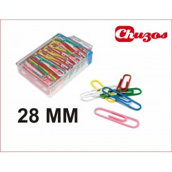 CLIPS PLASTIFICADOS 28MM ARTES 100 UDS