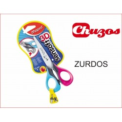 ZURDOS TIJERA ESCOLAR SENSOFT 3D ZURDOS SEGURIDAD 13 CMS MAPED
