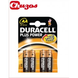 PILA AA LR6 PLUS POWER 4 UDS DURACELL