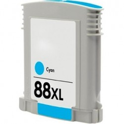 CARTUCHO TINTA HP 88XL CYAN COMPATIBLE