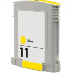 CARTUCHO TINTA HP 11 YELLOW COMPATIBLE