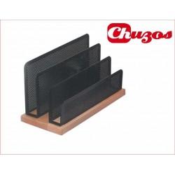ORGANIZADOR CARTAS REJILLA-MADERA WW-03 1030055 PRYSE