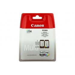 CANON TINTA PG545 NEGRO + CL546 COLOR PACK ORIGINAL