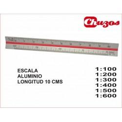 ESCALIMETRO ALUMINIO 10 CMS ARTES