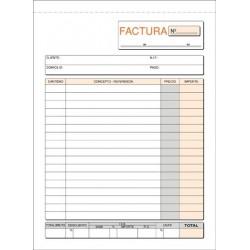 LOAN TALONARIO FACTURAS TRIPLICADO T65 A5 NATURAL VERTICAL