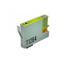 CARTUCHO TINTA EPSON T1284 YELLOW COMPATIBLE