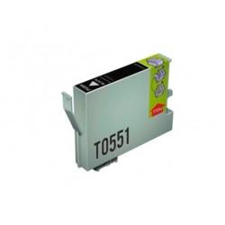 CARTUCHO TINTA EPSON T0551 NEGRO COMPATIBLE