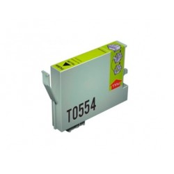 CARTUCHO TINTA EPSON T0554 YELLOW COMPATIBLE