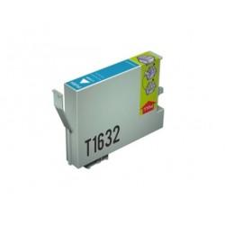 CARTUCHO TINTA EPSON T1632 CYAN COMPATIBLE