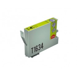 CARTUCHO TINTA EPSON T1634 YELLOW COMPATIBLE