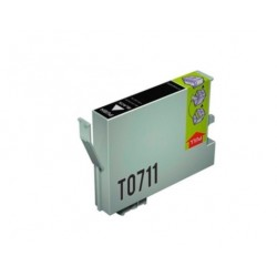 CARTUCHO TINTA EPSON T0711 NEGRO COMPATIBLE