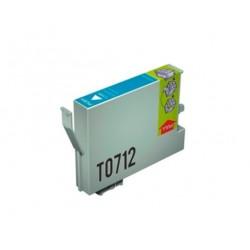 CARTUCHO TINTA EPSON T0712 CYAN COMPATIBLE