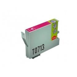 CARTUCHO TINTA EPSON T0713 MAGENTA COMPATIBLE