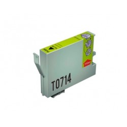 CARTUCHO TINTA EPSON T0714 YELLOW COMPATIBLE