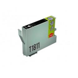 CARTUCHO TINTA EPSON T1811 NEGRO COMPATIBLE
