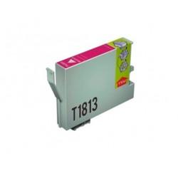 CARTUCHO TINTA EPSON T1813 MAGENTA COMPATIBLE