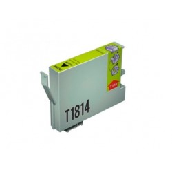 CARTUCHO TINTA EPSON T1814 YELLOW COMPATIBLE