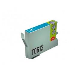 CARTUCHO TINTA EPSON T0612 CYAN COMPATIBLE