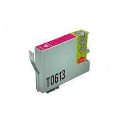 CARTUCHO TINTA EPSON T0613 MAGENTA COMPATIBLE