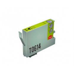 CARTUCHO TINTA EPSON T0614 YELLOW COMPATIBLE