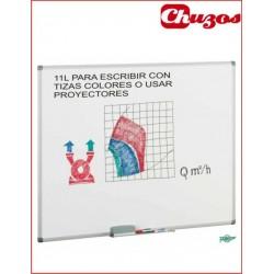 PIZARRA ESTRATIFICADA BLANCA TIZA COLORES Y PROYECCION REF 11-L