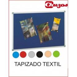 TABLERO CORCHO TAPIZADO TEXTIL Varios tamaños y colores REF.611T