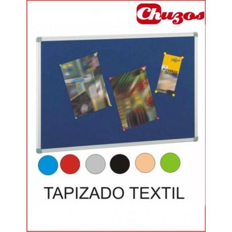 Corcho marco aluminio superficie tapizada con textil |www.chuzos.es