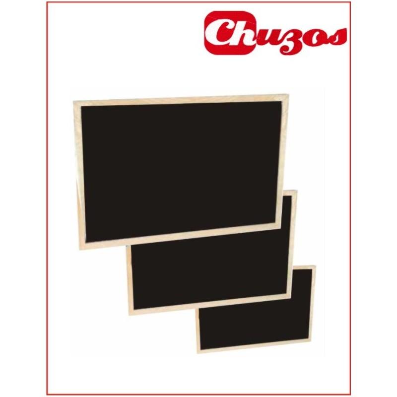 Pizarra negra marco madera Pino económica Ref.503-1N | www.chuzos.es