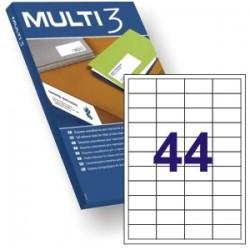 ETIQUETA A4 MULTI3 100 HJS 48,5 X 25,4 MM 4717