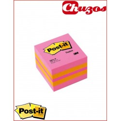 NOTAS ADHESIVAS MINICUBO 51X51 MM 2 COLORES 400HJS POST-IT 3M