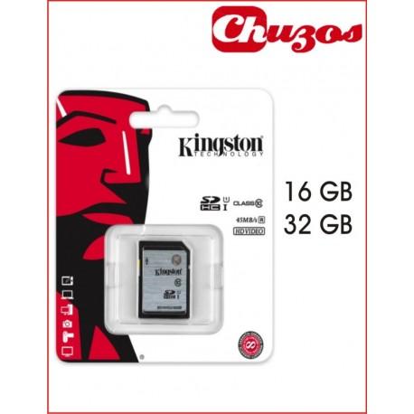 TARJETA SD HD VIDEO CLASS10 KINGSTON