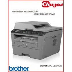 IMPRESORA MULTIFUNCION BROTHER MFCL2700DW LASER MONOCROMO