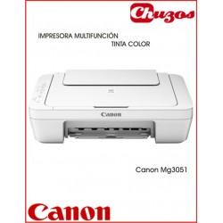 IMPRESORA MULTIFUNCION CANON PIXMA MG3051 TINTA