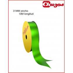 CINTA DECORATIVA 31MM X 10 ML VERDE METALIZADO 3240022 WONDER