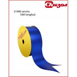 CINTA DECORATIVA 31MM X 10 ML AZUL METALIZADO 3240026 WONDER