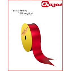 CINTA DECORATIVA 31MM X 10 ML ROJO METALIZADO 3240021 WONDER
