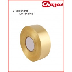 CINTA DECORATIVA 31 MM X 10 ML ORO