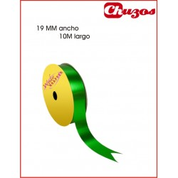 CINTA DECORATIVA 19MM X 10 ML VERDE METALIZADO 3240012 WONDER