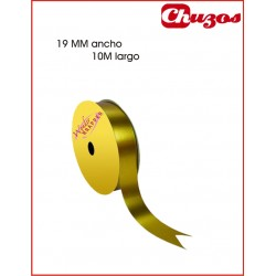 CINTA DECORATIVA 19MM X 10 ML ORO 3240017 WONDER