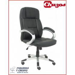 SILLON TOBARRA SIMILPIEL NEGRA PYC