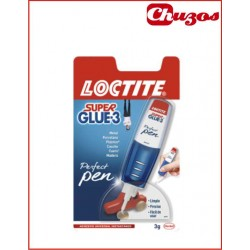 PEGAMENTO INSTANTANEO LOCTITE 3 GRS SUPER GLUE 3 PERFECT PEN
