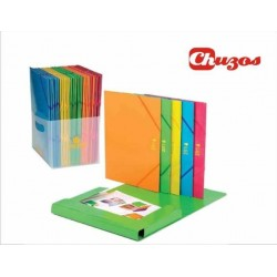 CARPETA CARTON BRILLO COLORES SURTIDOS CARCHIVO