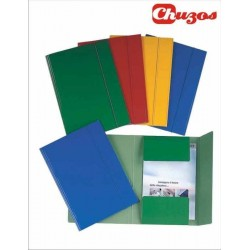 CARPETA CARTON BRILLO FOLIO ESSELTE