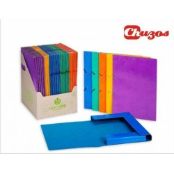 CARPETA CARTON COLORES FOLIO CARCHIVO