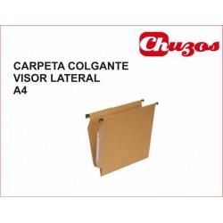 CARPETA COLGANTE A4 VISOR LATERAL GRAFOPLAS