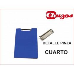 CARPETA CON PINZA 4º PVC CLIP SUPERIOR PRYSE