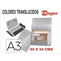 CARPETA PLASTICO RIGIDO A3 LIDERPAPEL