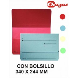 CARPETA POCKET BOLSILLO FOLIO ESSELTE