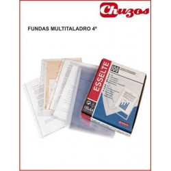 FUNDA MULTITALADRO 4º CAJA 100 UDS ESSELTE