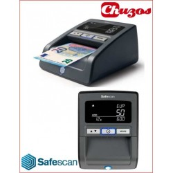 DETECTOR BILLETES FALSOS SAFESCAN 155S NEGRO